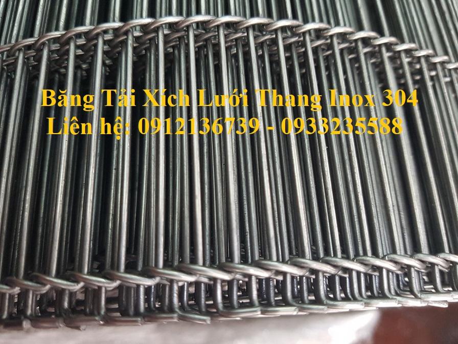 Vật liệu inox 304 trong băng tải xích lưới