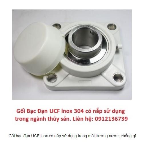 gối bạc đạn UCF chống gỉ