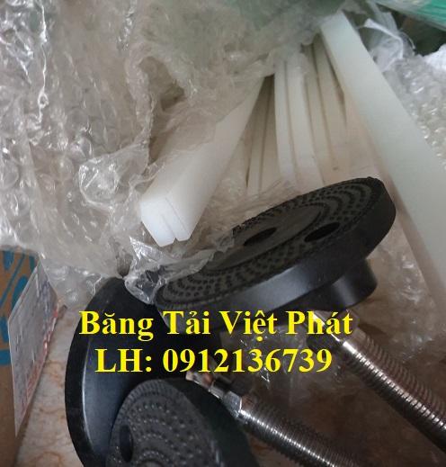 Nẹp nhựa đỡ băng tải HDPE
