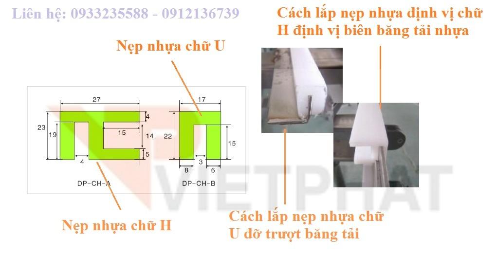 nẹp nhựa HDPE
