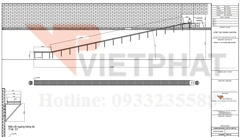 thiết kế băng tải pvc