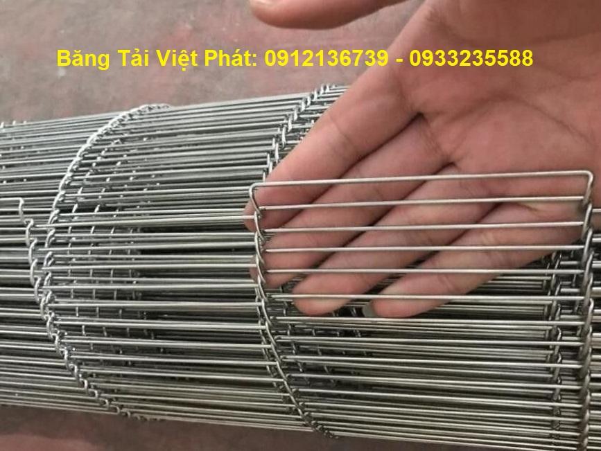 vật liệu inox 304 cho băng tải xích lưới