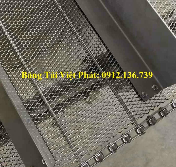 cánh gạt băng tải lưới inox