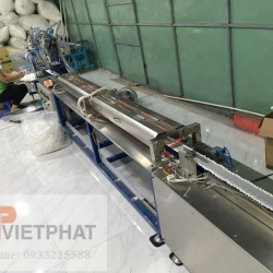 Cotton swab production line