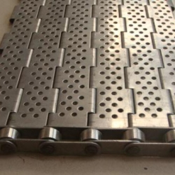 Stainless Steel Plate Belt in Vietnam (Perforated or Flat Top)