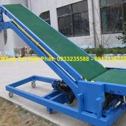 Conveyors for lifting and lowering