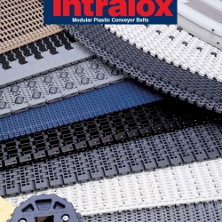 Intralox plastic conveyor belts