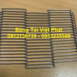 BL series stainless steel conveyor mesh belt produced in Vietnam