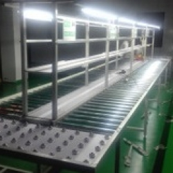 Auxiliary structures in the conveyor system