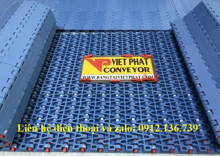băng tải nhựa chất liệu POM lắp ráp tại Việt Nam