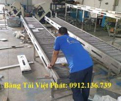 Băng tải xích lưới inox