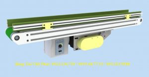 thiết kế băng tải pvc khung nhôm