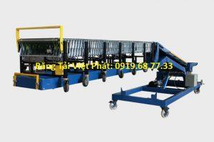 kết cấu băng tải nâng hạ xe container