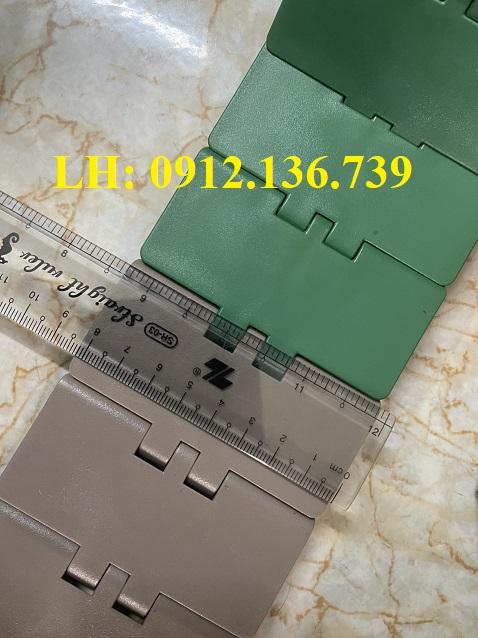 băng tải xích nhựa 820 K325 bản rộng 82.6mm
