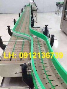 xích nhựa 820 k325 băng tải đổi line
