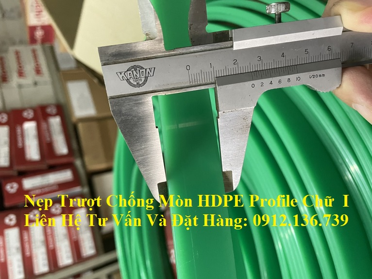 thanh trượt chống mòn HDPE