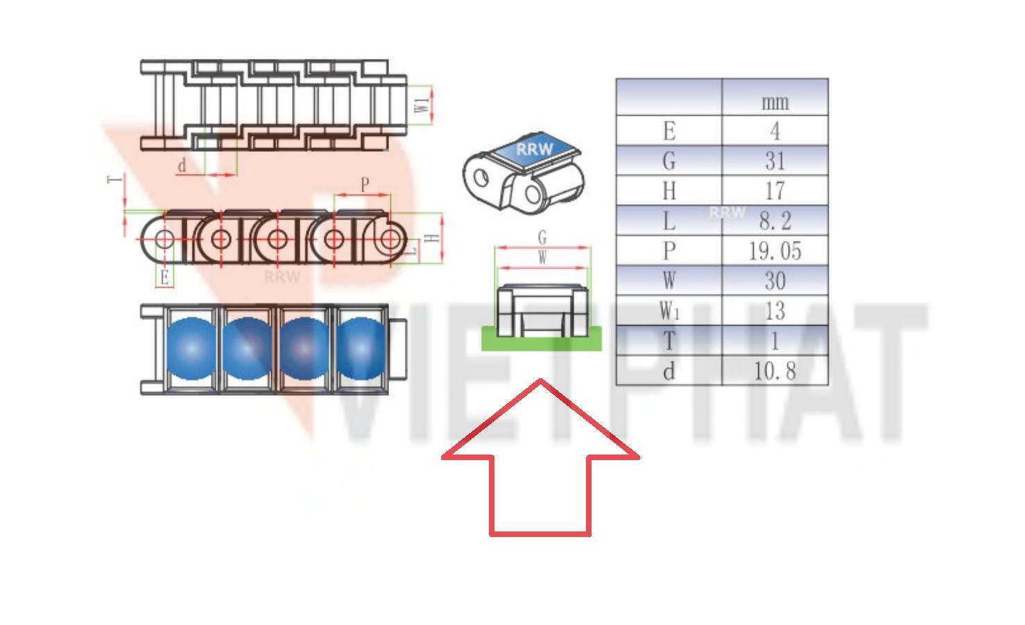 Hướng dẫn lắp ráp rail chuẩn 40P và 60P
